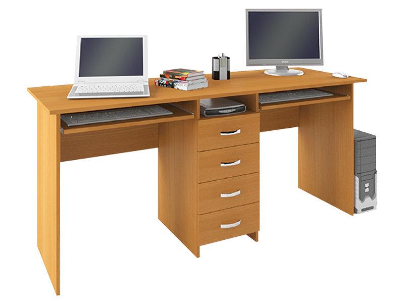 Тандем 2 письменный стол компьютерные столы геометрия мебели.
