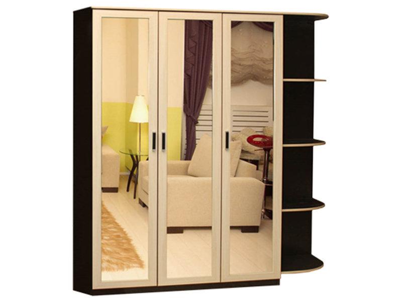 Стайл 3 шкаф распашной шкафы распашные геометрия мебели.