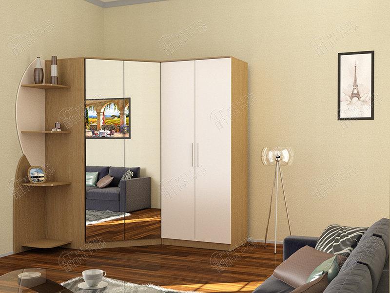 Глянец 34 шкаф угловой шкафы угловые геометрия мебели.